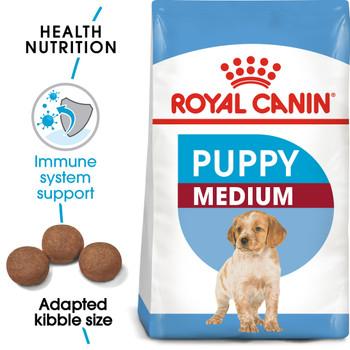 SIZE HEALTH NUTRITION MEDIUM PUPPY 10 KG