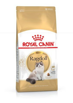 Balanced and complete feed for adult Ragdoll cats over 12 months old. The kibble is specially designed for the Ragdoll cat's broad jaw to make it easier for her to grasp and encourage her to chew. Formula enriched with taurine and EPA & DHA for a healthy heart. A combination of Omega 3 fatty acids and Omega 6 fatty acids helps maintain skin and coat health.