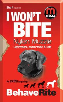 NYLON DOG MUZZLE SIZE 4