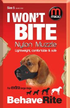 NYLON DOG MUZZLE SIZE 5