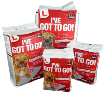 PUP-PEE TRAINING PADS 7 PACK