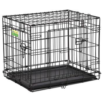 Contour Double Door Dog Crate 24″