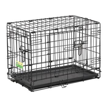 Contour Double Door Dog Crate 22″