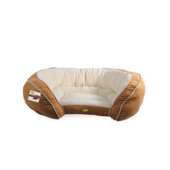 LUXURY LOUNGE BED - MEDIUM/TAN