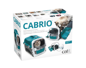 CABRIO CAT CARRIER SYSTEM - TURQUOISE