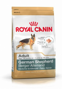 Breed diet for adult German Shepherd > 15 months old. Targeted digestive performance