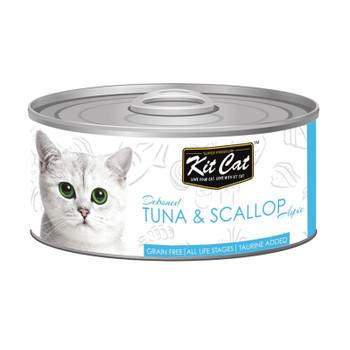 Kit Cat Tuna & Scallop 80g