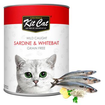 Kit Cat Wild Caught Sardine & WhiteBait