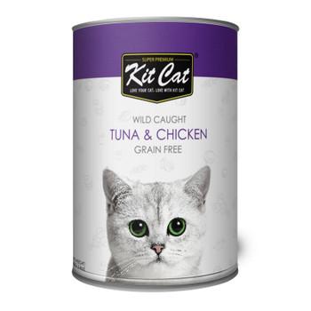 Kit Cat Wild Caught Tuna & Chicken