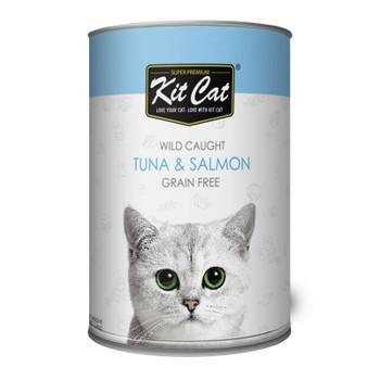 Kit Cat Wild Caught Tuna & Salmon