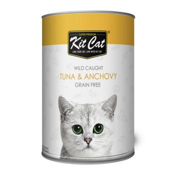 Kit Cat Wild Caught Tuna & Anchovy