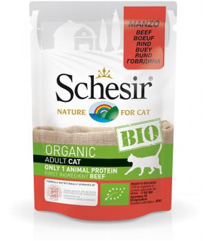Schesir Bio Beef For Cats 12x 85g