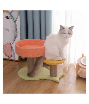 Pado Cat Tree Play Tower And Scratching Play With Hanging Toys - 40 X 27 X 26 Cm