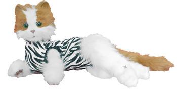 CAT MEDICAL SHIRT S ZEBRA