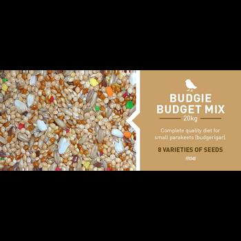 BUDGIE BUDGET MIX 20 KG