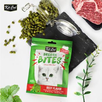Kit Cat Breath Bites Beef Flavor 60g