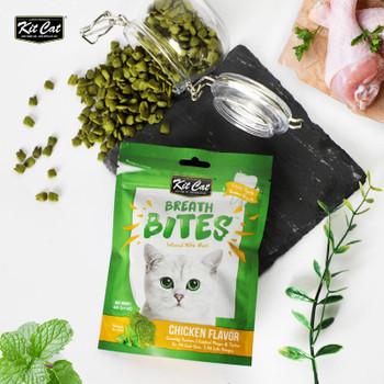 Kit Cat Breath Bites Chicken Flavor 60g