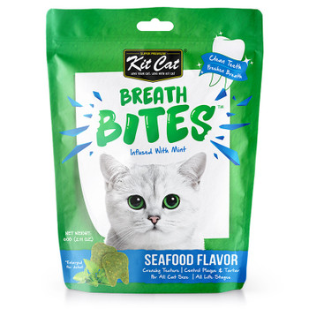 Kit Cat Breath Bites Seafoods Flavor 60g