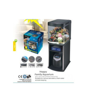 Boyu Marine Aquarium With Cabinet 520Lx580Wx630H(Mm)[Hs-62]