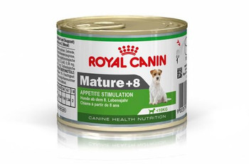 For mature Mini dogs over 8 years old