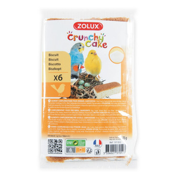 CRUNCHY CAKE GROWTH BISCUITS - 6PC
