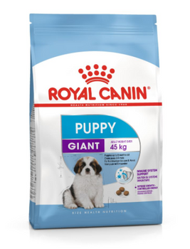 For Giant puppies, up to 8 months old