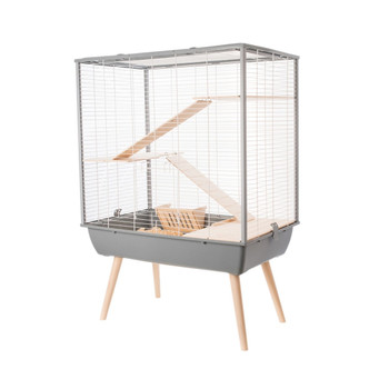 NEO COSY LARGE RODENT CAGE - GREY