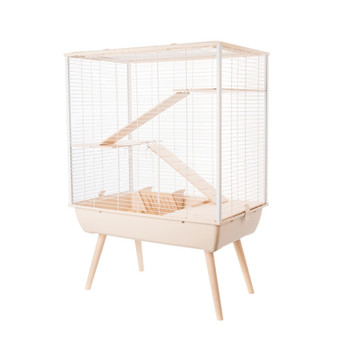 NEO COSY LARGE RODENTS CAGE - BEIGE