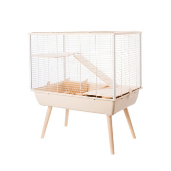 NEO MUKI LARGE RODENT CAGE - BEIGE