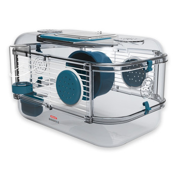 RODY 3 MINI RODENT CAGE - BLUE