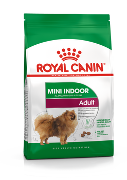For dogs <10kg and >10months living mainly indoors. Supporting digestive health, reducing faecal odour and volume, calorie controlled to reduce risks of obesity.