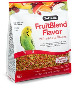 Recommended for parakeets, budgerigars, parrotlets and other small parrots