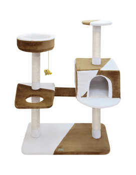 Size: Unit CAMILA Cat Pole. Dimensions : 74x40x105 cm. Delivered non-assembled.