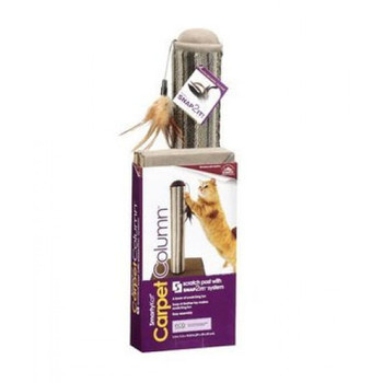A cat's desire to scratch is a hard-wired instinct, not a behavioral problem. Claws are indispensable feline tools; cats use them to hunt, play, groom, exercise, mark territory and defend themselves. Scratching helps keep claws in fine shape by removing an irritating scale that grows with the nail. And scratching just feels good! Smartykat provides products with various combinations of scratch surfaces and angles to please the most finicky cats and redirect scratching away from furnishings.