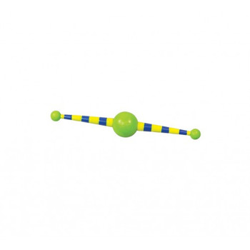 The Whirly Gig by Petstages is so simple yet so fun! The center ball spins, while the two outer balls balance it to create motion...
