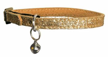 30 cm (L) Fancy glitter cat collar