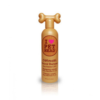 Comfort for your dog. Natural shampoo blended with oatmeal, aloe vera, vitamins E & C, heal and protect sensitive skin. Jojoba oil and oatmeal work together to moisturize the skin and soften the coat.