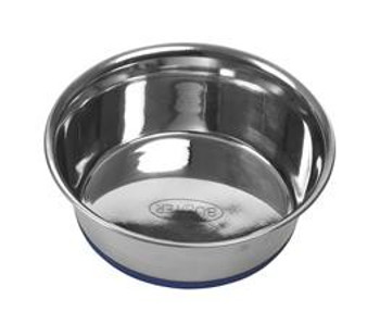 Buster Stainless Steel bowl blue base SS 0.525L