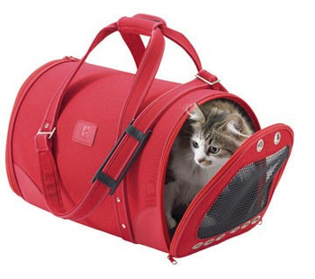 Bobby Size: 30x47x28 cm  Fancy transport bag for cats & small dogs