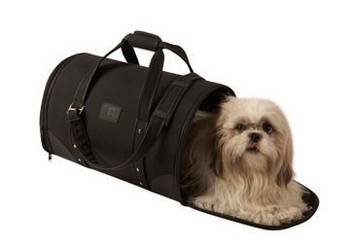 Size: 30x47x28 cm  Fancy transport bag for cats & small dogs