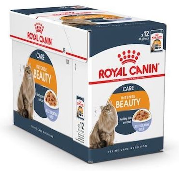 For adult cats over 12 months of age. Chunks in JELLY Helps maintain coat beauty particularly due to Omega 3 and Omega 6 fatty acids.  Maintains ideal weight and supports a healthy urinary system.