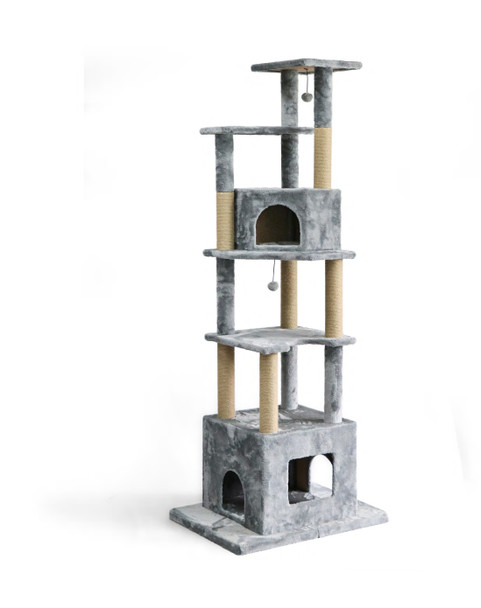 NP DESIGN CAT TREE GREY X-LARGE