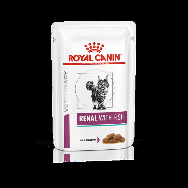VET HEALTH NUTRITION FELINE RENAL TUNA (WET FOOD - POUCHES)