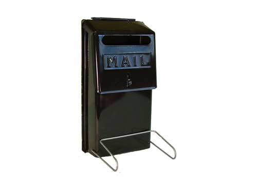 Mailbox - Economy Vertical Wall Mount with Front Slot
