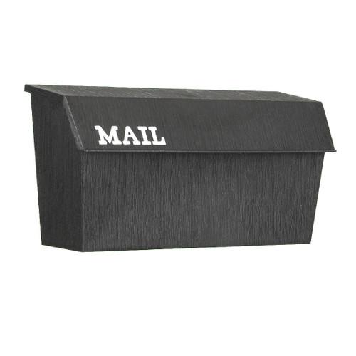 Mailbox - Horizontal Poly Wall Mount