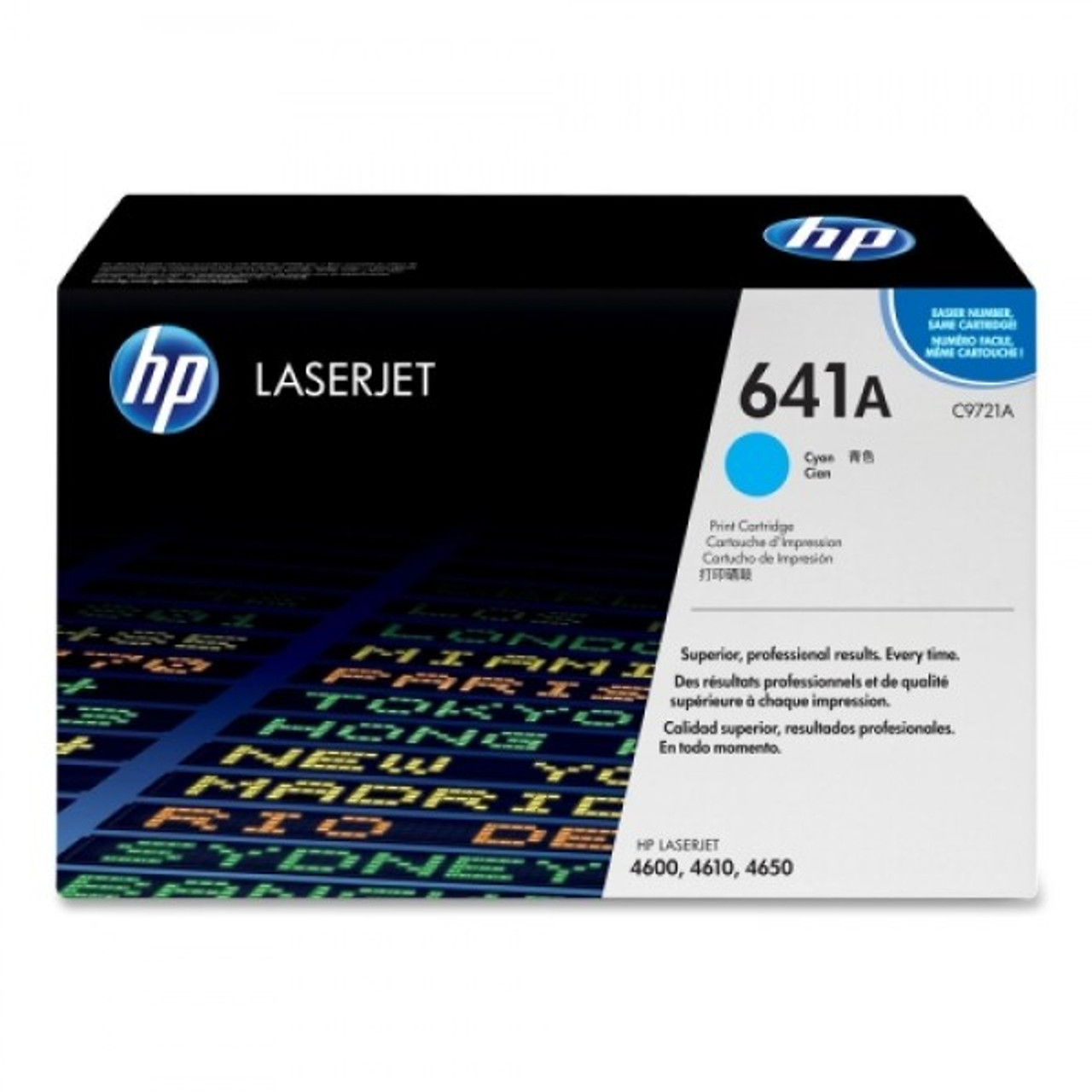 HP 4600 4650 Cyan Toner Cartridge - New