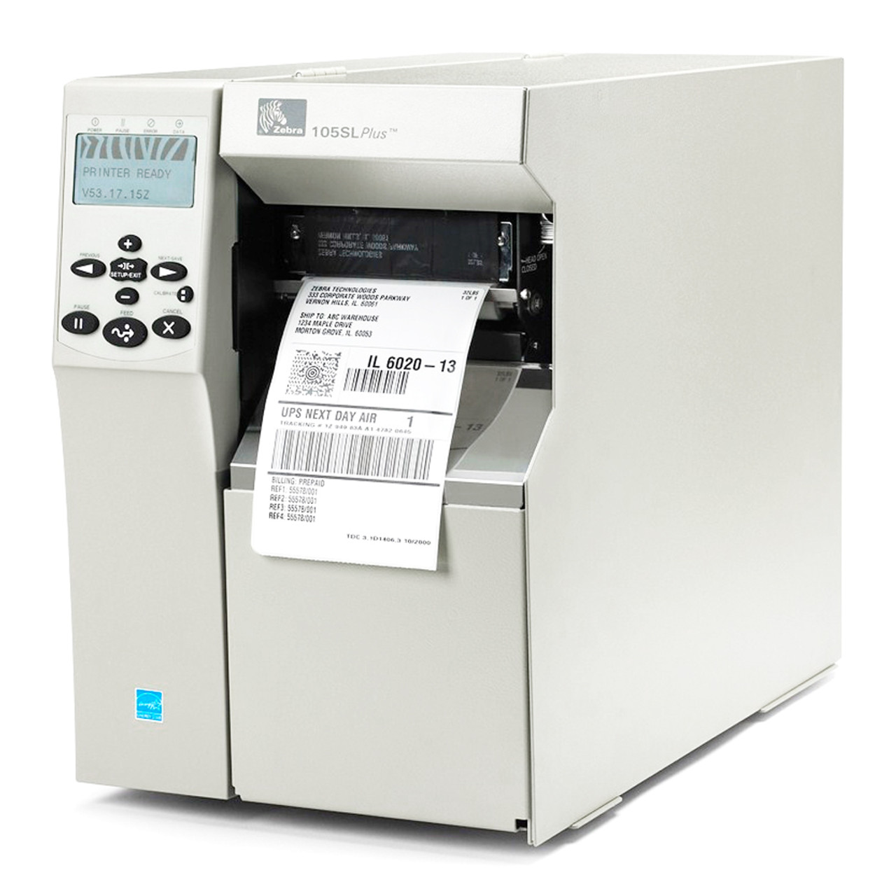 Zebra S Series 105SL B/W Direct Thermal Printer