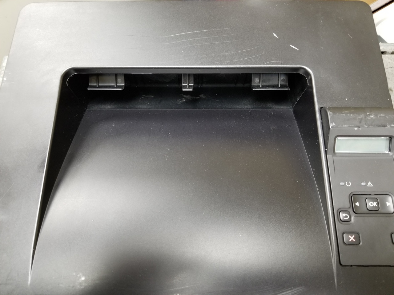 Printer may have cosmetic scratches or blemishes