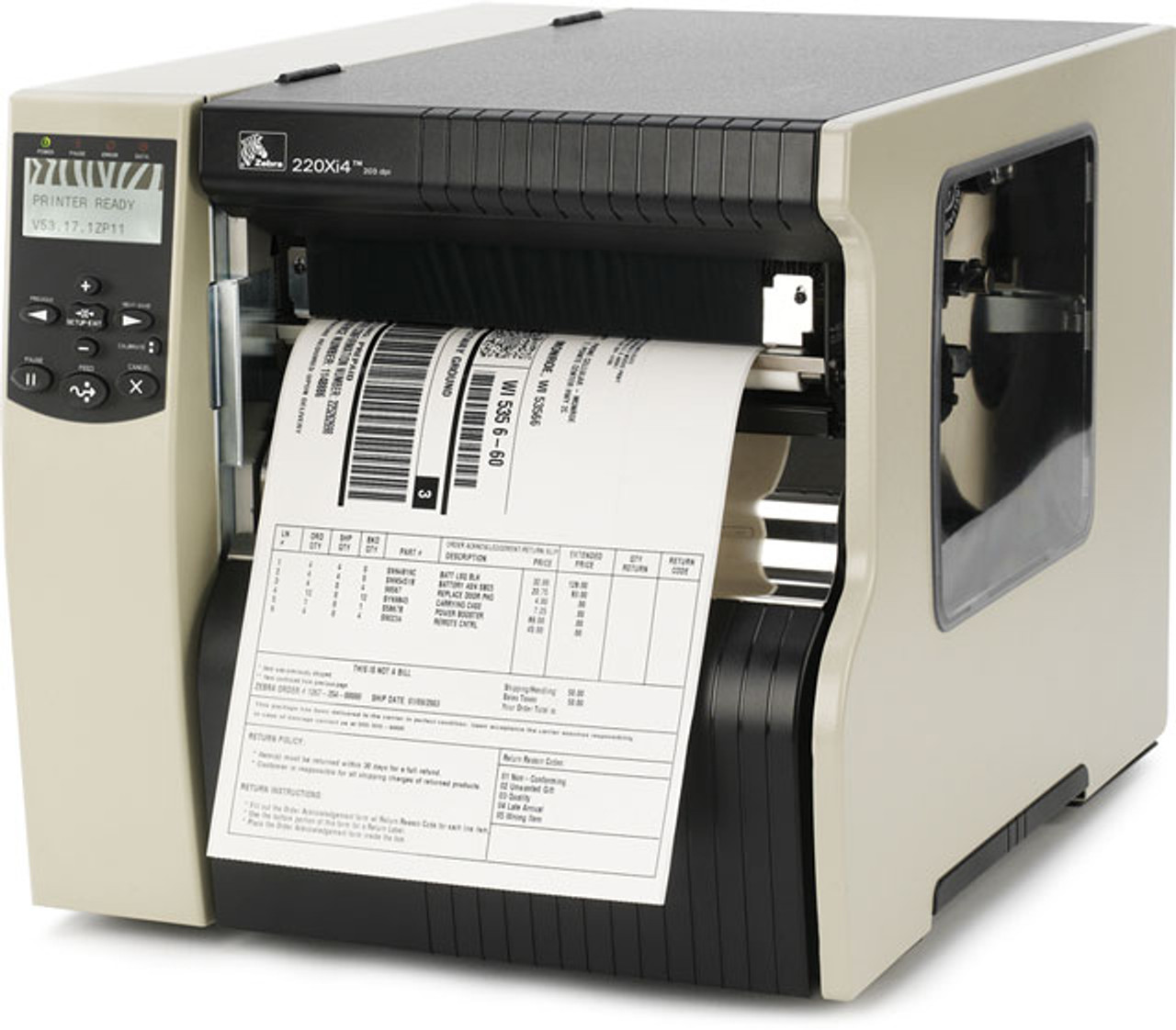 Zebra Xi Series 220Xi4 Thermal Label Printer