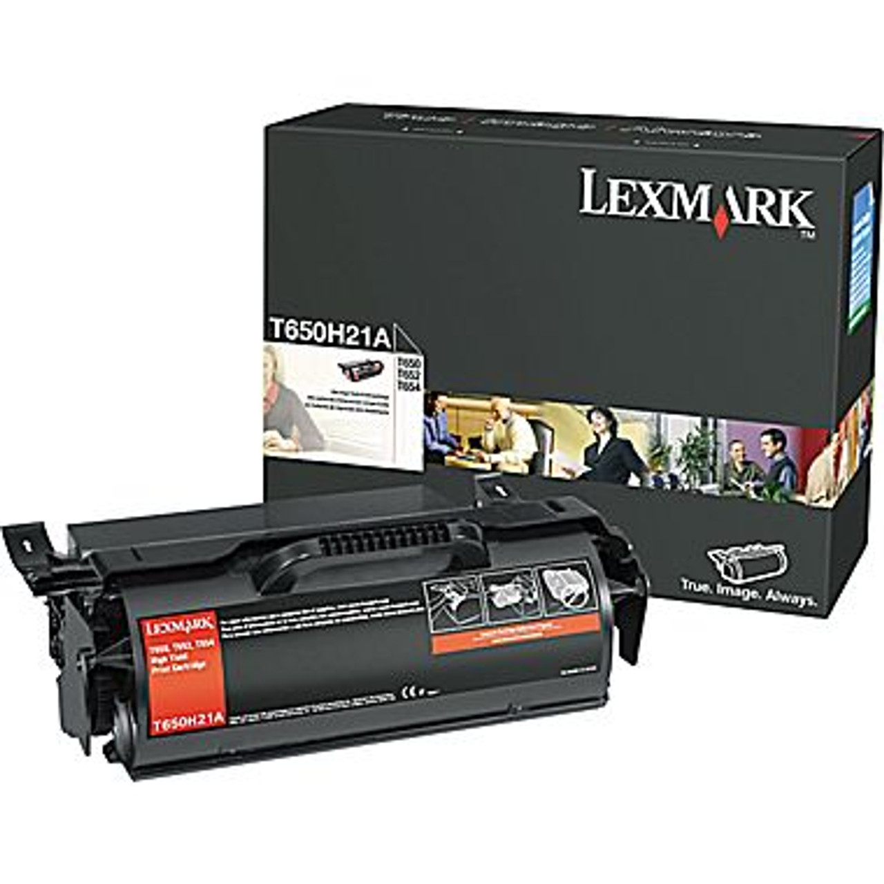 Genuine LexmarkT654X80G  Black Toner Cartridge (Remanufactured)